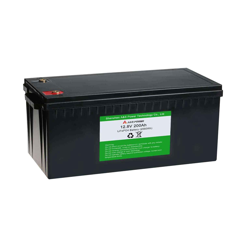 2000 Times Cycle Life Top Quality Solar Battery Lifepo4 12v 200ah For Home Power Storage Pack