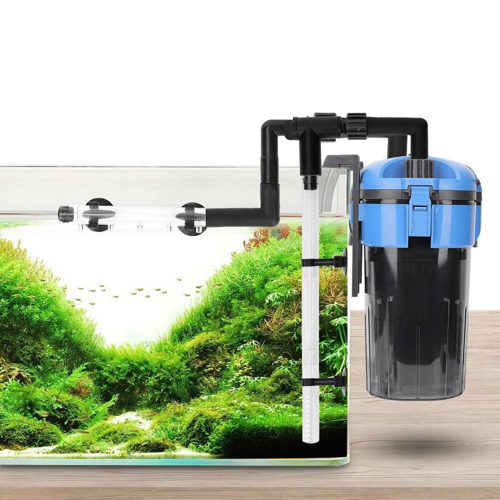 Ultra-silencioso aquário tanque de filtragem externa tanque