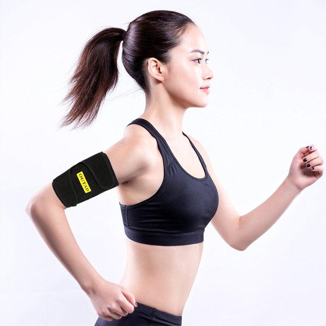 2020 Arm Warmers Sweat Arm Shaper Sauna Effect Shaping Adjustment Tightening Arm Slimming Shaping Belts Heat Insulation 2PCS 1
