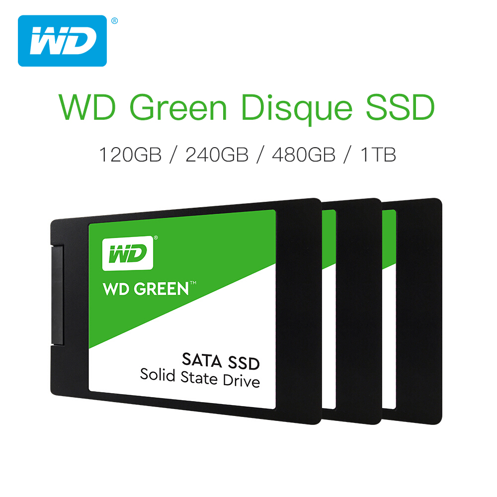 Western Digital WD SSD GREEN PC 120GB 240GB 480GB Internal Solid State Drive  Sabit Hard Disk SATA3 6GB s for Laptop