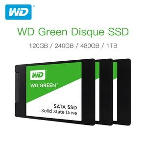 Western Digital WD SSD GREEN PC 120GB 240GB 480GB Internal Solid State Drive Sabit Hard Disk SATA3 6GB/s for Laptop(China)