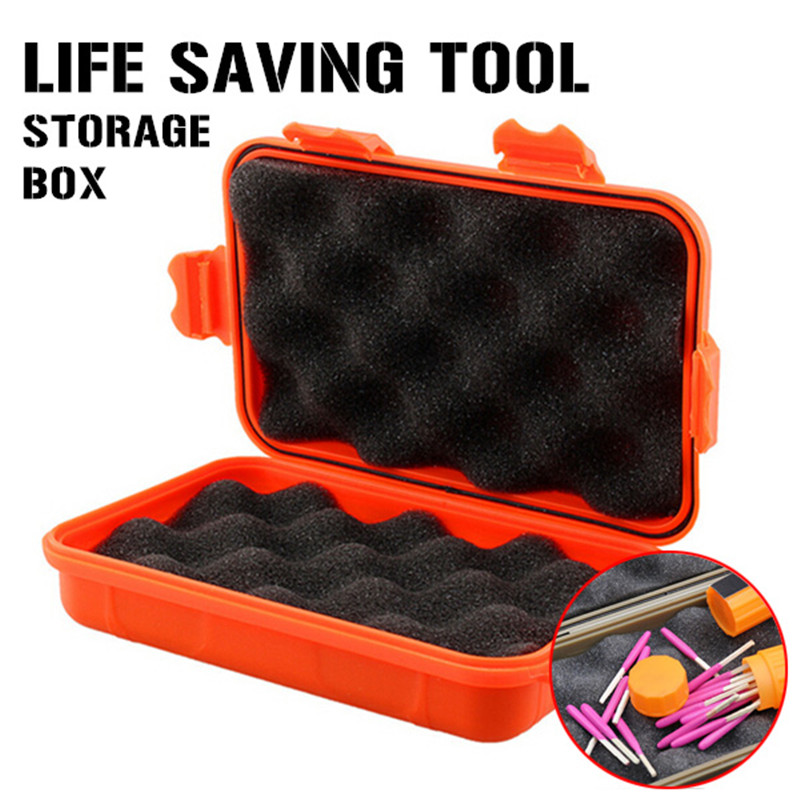 EDC Gear Waterproof Box Kayak Storage Outdoor Camping Fish Trunk Airtight Container Carry Travel Seal Case Bushcraft Survive Kit