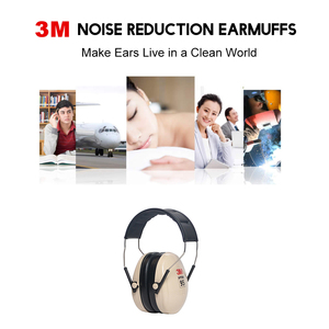 Image 5 - 3M H6A Sound insulation Earmuffs SNR:27db Security 3M Ear Protector Noise reduction Soundproof Ear muffs For Study Sleeping Work