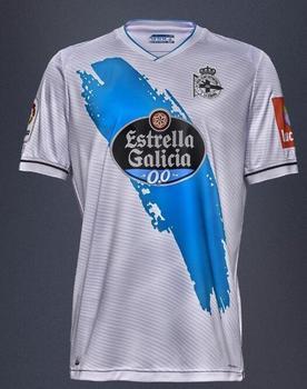 20/21 for Deportivo La Coruna adult Camiseta de futbol 2020 Deportivo La Cor Futbol Camisa Leisure Best Quality T-Shirts - 20 21 away, XXL