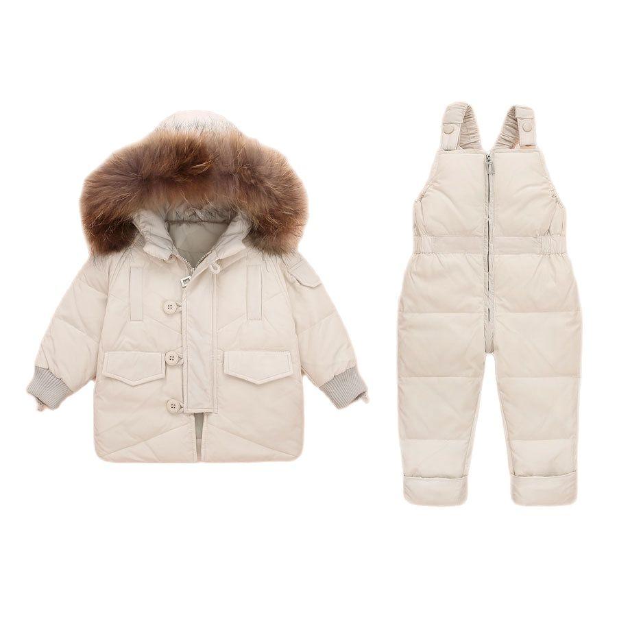 -20 Degree Russian Snowsuit Children Sets Baby Girls Boys Clothing Kids Warm Coat Winter Jacket for Girls Infant Parkas Toddler