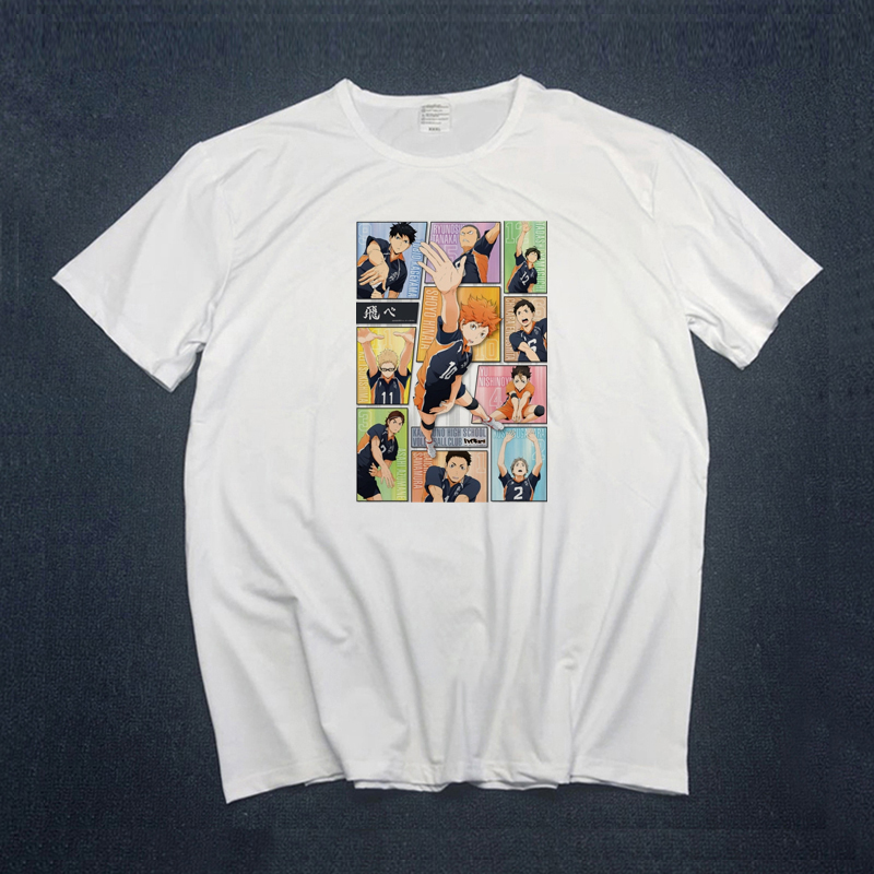 Haikyuu T Shirt Women  Anime Japan Tshirt Hot Karasuno High School Carnaval Costumes Haikyuu!! Outfit Jerseys  Shirts