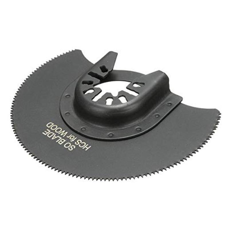 88mm HCS Segment Saw Blade Multi Tools Renovator Power Tool For Woodworking Metal Cutting