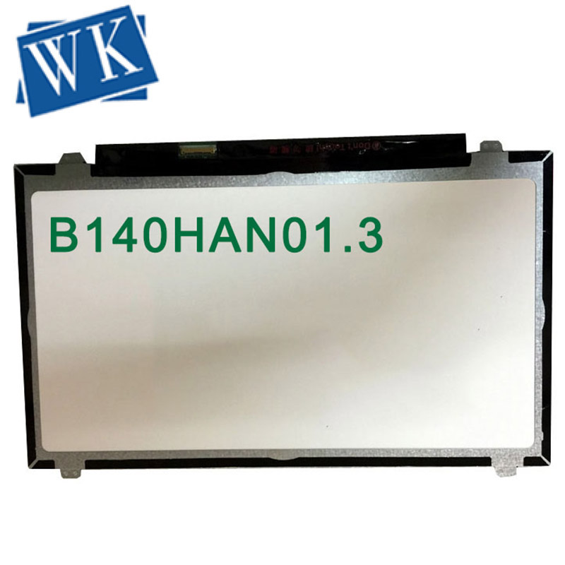 Free Shipping 14 Inch B140HAN01.2 LP140WF1 SPB1 B140HAN01.3 B140HAN01.0 B140HAN01.1 For Thinkpad L440 T440 Screen 1920*1080 Ips