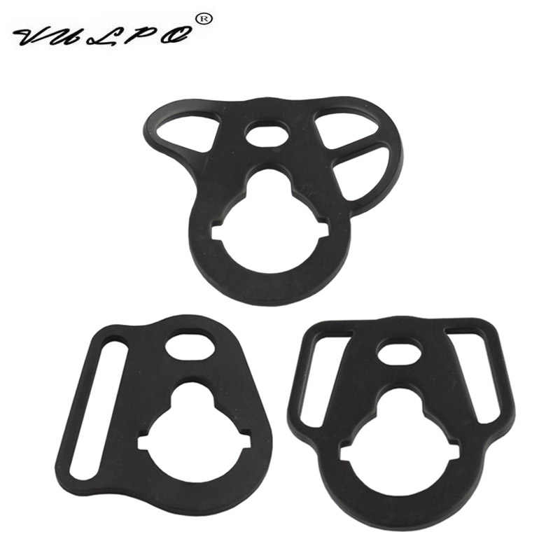 Vulpo Tactical Sling Adapter End Plate Mount Voor Airsoft Aeg Voorraad Buffer Buis Sling Swivel