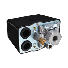Безуходный 3-х фазный 90-120 фунтов на квадратный дюйм воздушные компрессоры Давление переключатель Управление 230V 400V 16A Давление переключатель для компрессора Mayotr