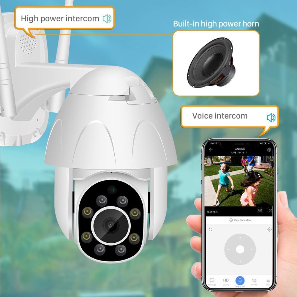 1080P IP Kamera WiFi 2MP Drahtlose PTZ Speed Dome CCTV IR Onvif Kamera Im Freien Sicherheit Überwachung Wasserdichte Kamera YCC365 app