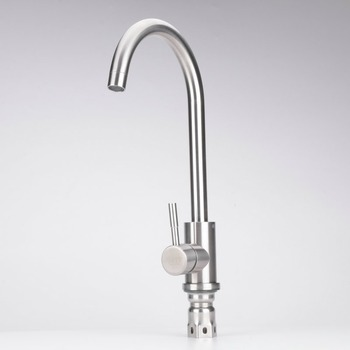Kitchen Faucets 304Stainless Steel Kitchen 360 Degree Rotation Kitchen Hot Cold Faucet Mixer Sink Tap for Kitchen Faucet kitchen creamery