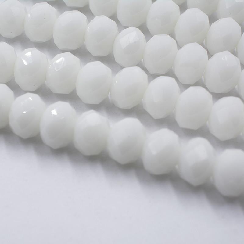4 мм 140 шт./лот бусины из кристаллов, граненые круглые стеклянные бусины - Цвет: 057