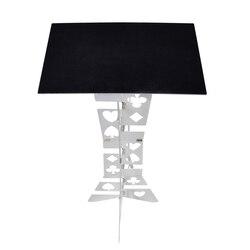 Алюминиевый магический складной стол (сплав)-серебряный цветной магический трюк станок Магия Лучший настольный магический иллюзий мерцаю...