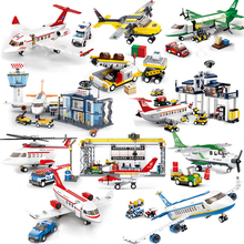 City Plane Series International Airport Airbus Aircraft Airplane Legoes Building Blocks Sets Figures Bricks Toys for Children b0366 b0365 abs 43 28cm airplane aircraft building blocks airbus city bus w 7 dolls model toys for children kids training gift