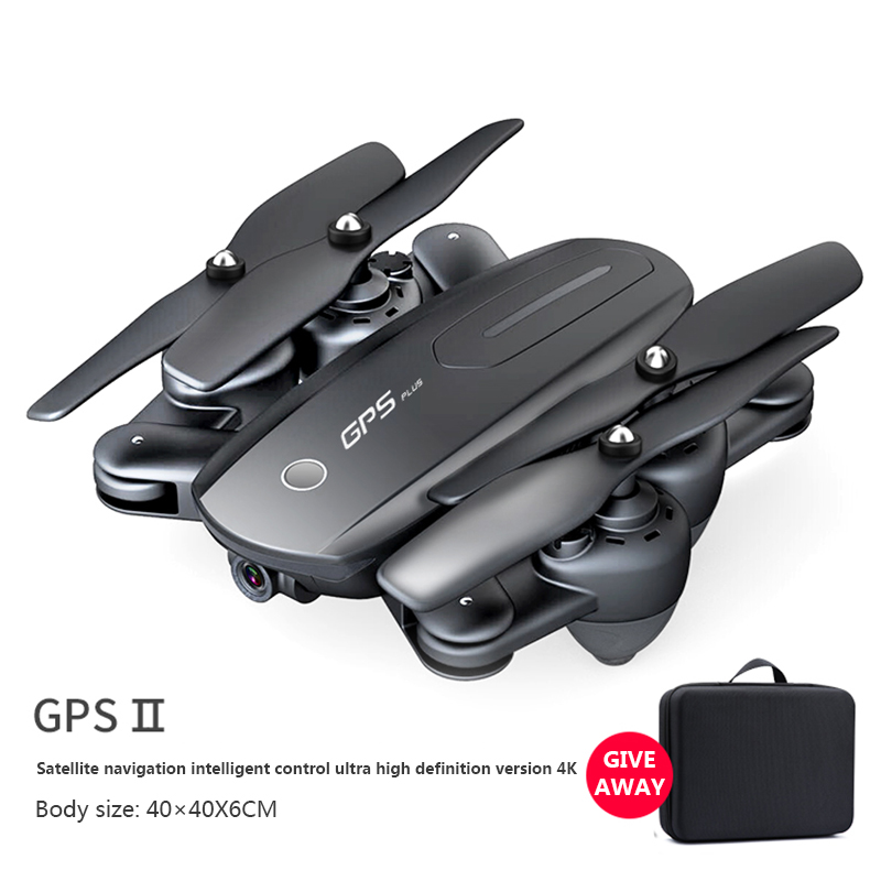 BBS RC Quadcopter GPS 4K Drone Optical Flow HD 1080P Camera Professional Aircraft  Folding Drones 500m Control Toys for Kid Gift