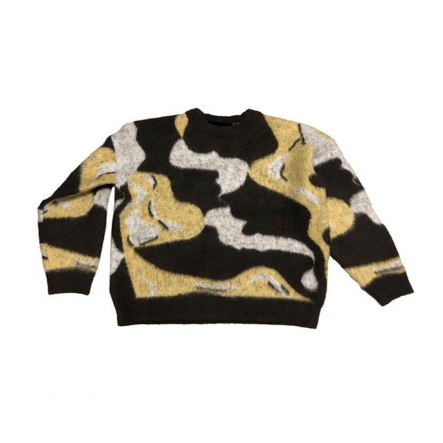 Купить камуфляжный шикарный винтажный мохеровый универсальный свитер картинки цена