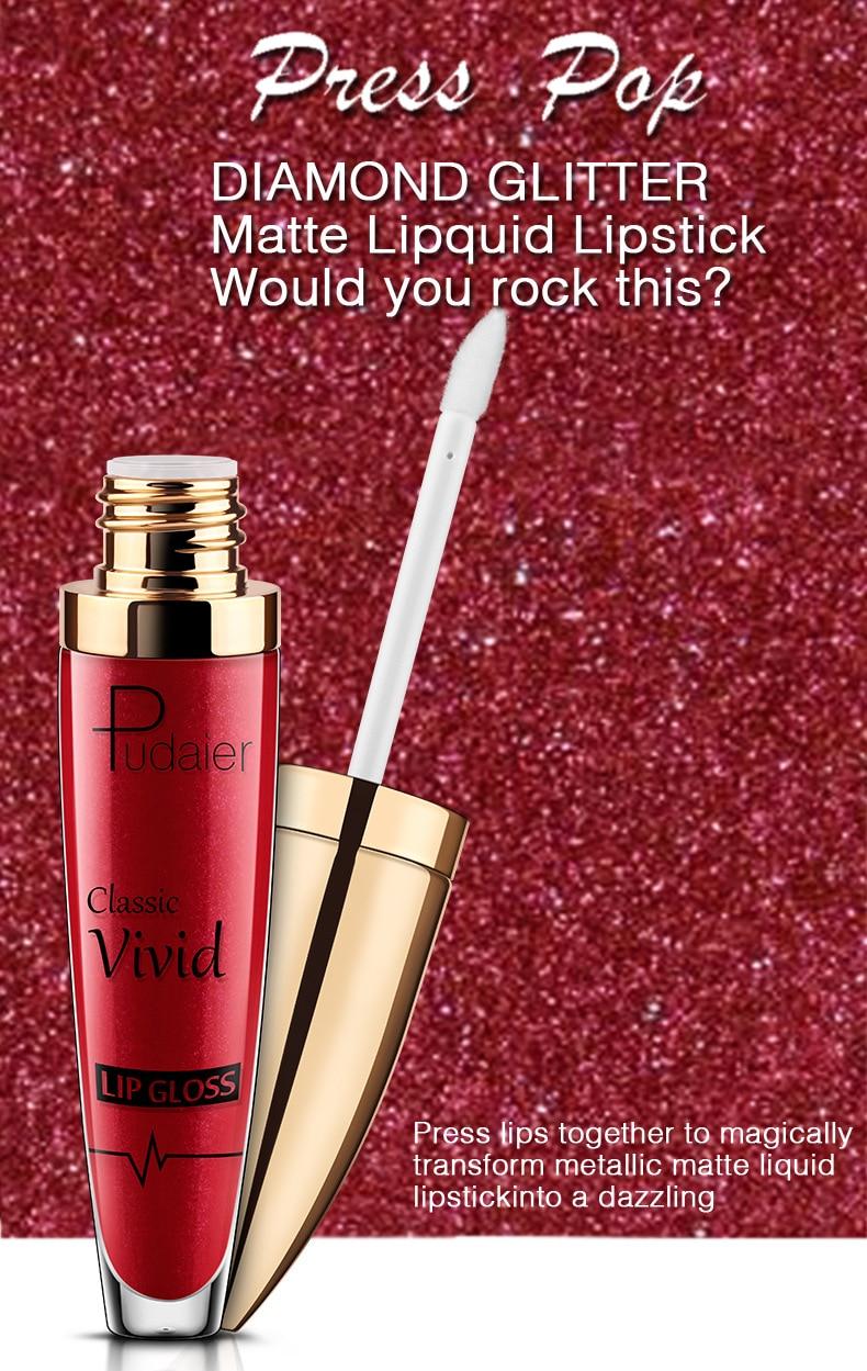 18 Color Sparkly Lasting Moisture Lipstick