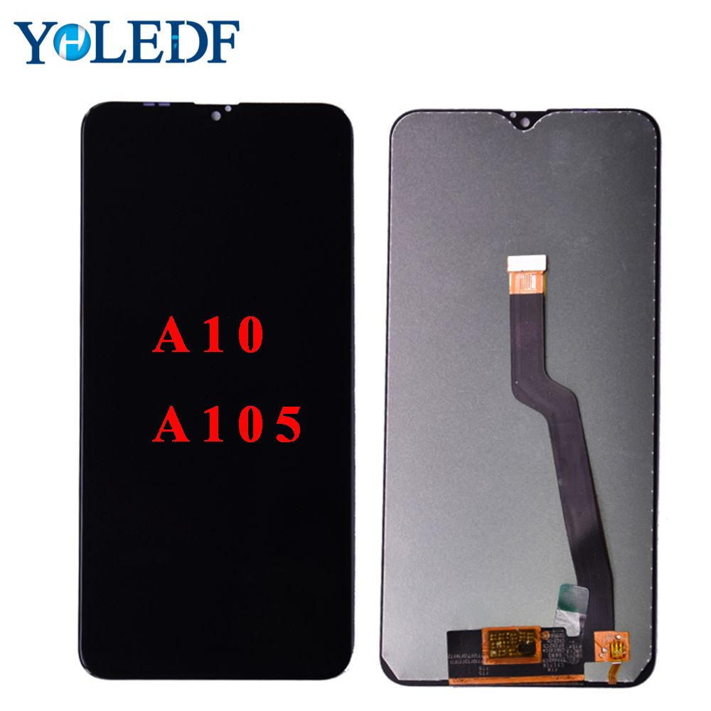 Original For <font><b>Samsung</b></font> Galaxy <font><b>A10</b></font> 2019 <font><b>LCD</b></font> Display A105F A105 SM-A105F <font><b>A10</b></font> <font><b>LCD</b></font> Touch <font><b>Screen</b></font> Digitizer <font><b>LCD</b></font> Assembly Replace Parts image