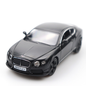 Diecast 1/32 Doors-open Bentley Car Black High Simulation Alloy Car Model Pull Back Collection For Children's Gifts maisto 1 24 2009 gtr35 white car diecast for nissan police open car doors car model motorcar diecast for men collecting 32512