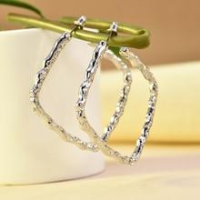 2019 New Fashion Minimalist Gold Sliber Beads Circle Metal D