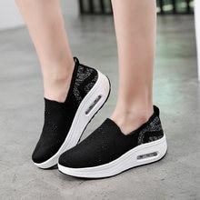 Женские кроссовки minika на воздушной подушке обувь качалка