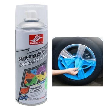 Autoล้อรถHubเปลี่ยนสีพ่นฟิล์มล้อHub Tyre Paint Care Muti-สีล้อสี-เปลี่ยนตกแต่งเคลือบ