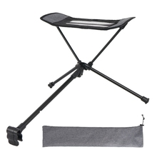 Outdoor Folding Footrest Portable Recliner Footrest Extended Leg Stool Can Be Used with Folding Chair camping