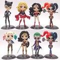 DC комикс чудо-женщина Харли Квинн Джокер супергерой ПВХ экшн-фигурки аниме коллекционные куклы детские игрушки