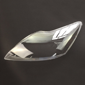 Image 4 - Ford Focus 2009 2010 2011 için araba far şeffaf Lens kabuk kapak otomatik şeffaf abajur far kabuk far kapağı