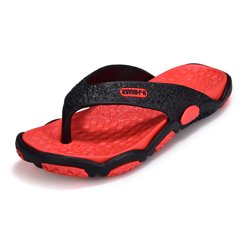 Men's Shoes Soft Massage Slippers Men Plus Size 39-45 Fashion Summer Men Flip Flops Outdoor Beach Sandal For Men Multiple Colour