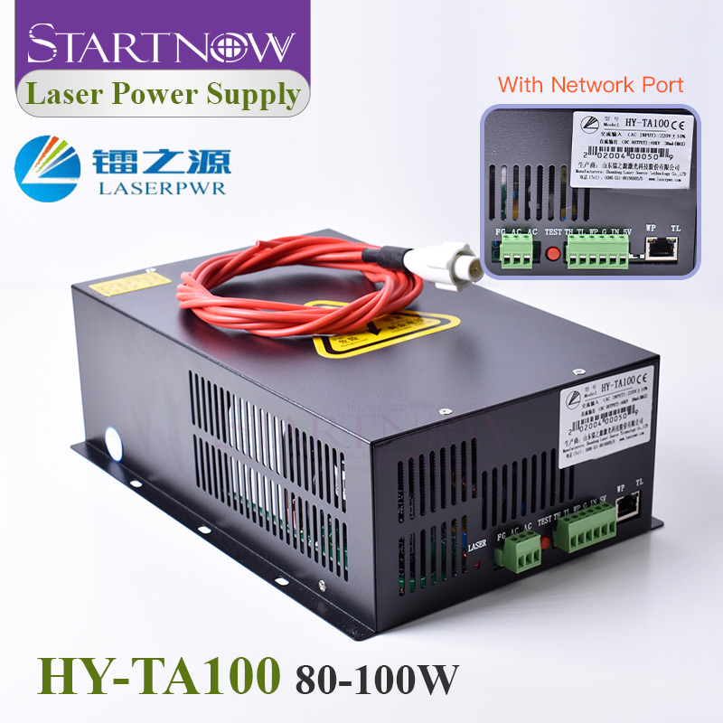 HY-TA100 Co2 Laser Generator 100W CO2 Laser Power Supply 110/220V   Source For 100W Co2 Laser Tube Engraving Cutting Machine