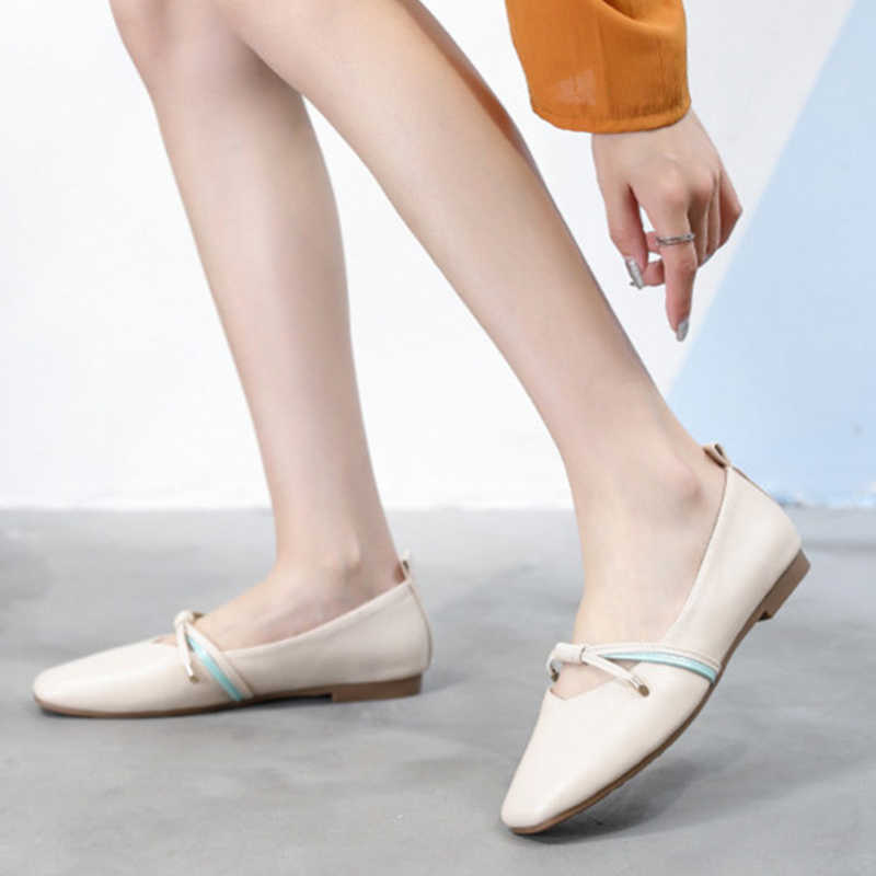 Shallow Mouth Flat Shoes Autumn New