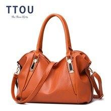 Ttou Designer Vrouwen Handtas Vrouwelijke Pu Lederen Tassen Handtassen Dames Draagbare Schoudertas Office Dames Hobos Bag Totes