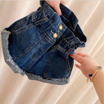 5 pcs 2020 new girls denim shorts spring summer fashion shorts children clothes kids shorts 90 100 110 120 130 ws1515