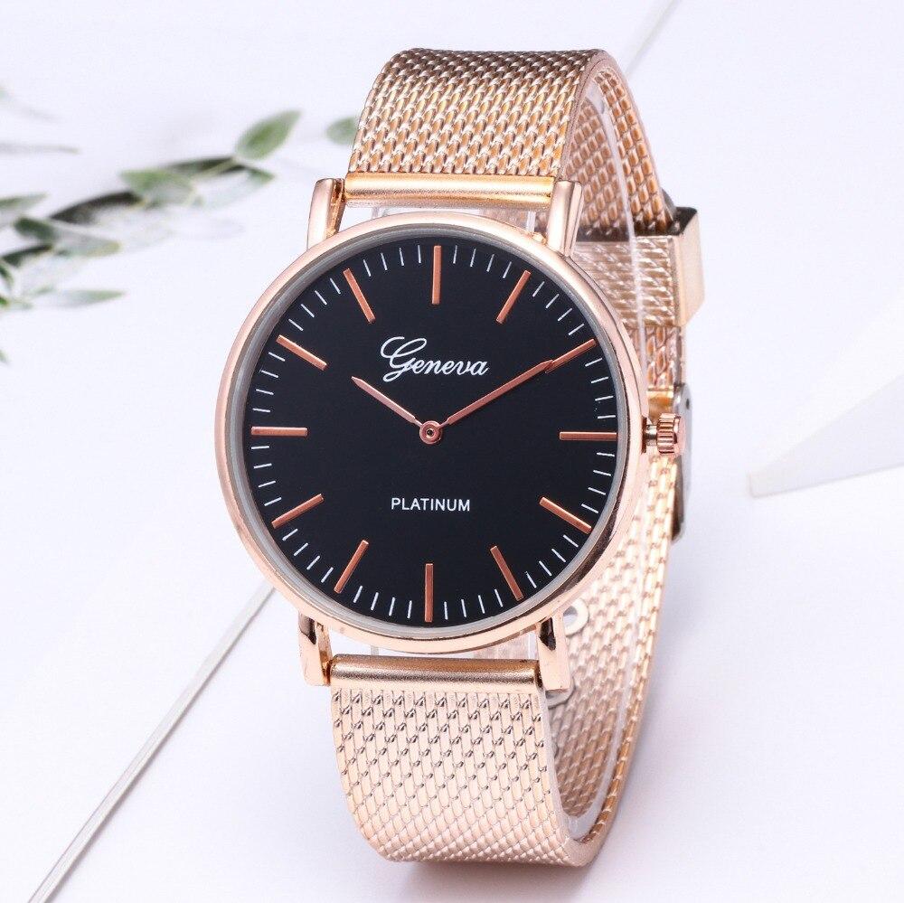 top luxury brand GENEVA Fashion Classic Women Watch Quartz Stainless Steel Wrist Watch Bracelet Watches Women Business relogio feminino reloj best gifts wholesale (15)