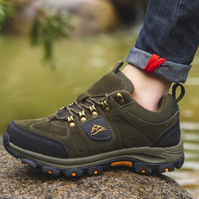 Hommes chaussures décontractées à lacets homme chaussures mode respirant haut chaussures plates chaussures de marche décontractée Zapatillas Hombre quatre saisons