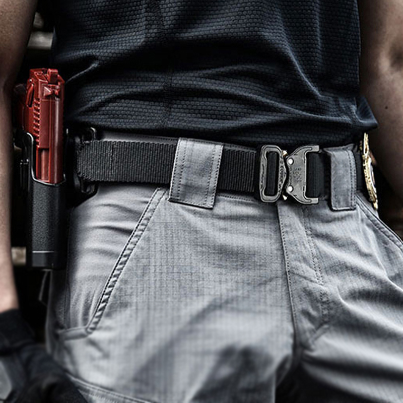 Medyla Nylon Strap Army Tactical Belt Men Military SWAT Combat Belts Outdoor Sports Emergency Survival Belt For Man Casual Belt