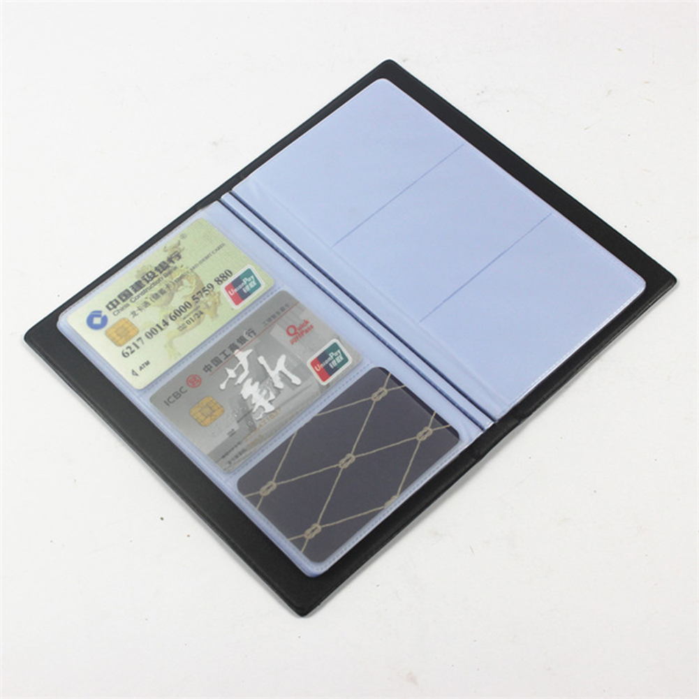 Holds 300 /180 Cards Business Journal Name Card Book Holder Storage Organizied  Case Organizer, For Office Use