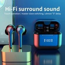 TWS Bluetooth Earphone 5.0 True Wireless Headset HIFI Surround Sound Earplugs Sports Headphone Stereo Headphones