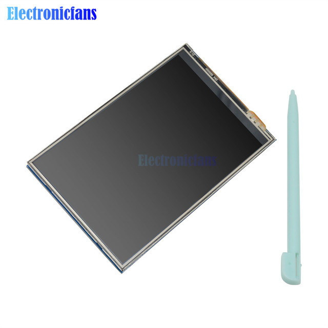 3.5 inch 4 Touch Screen TFT LCD Display Monitor 480*320 320x480 RPI LCD (A) V3 Touch Display Board Module for Raspberry Pi 2/3