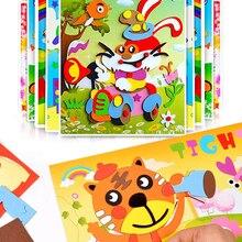 Sticker Game Puzzle Learning-Education-Toys Eva-Foam Multi-Patterns-Styles Animal Kids