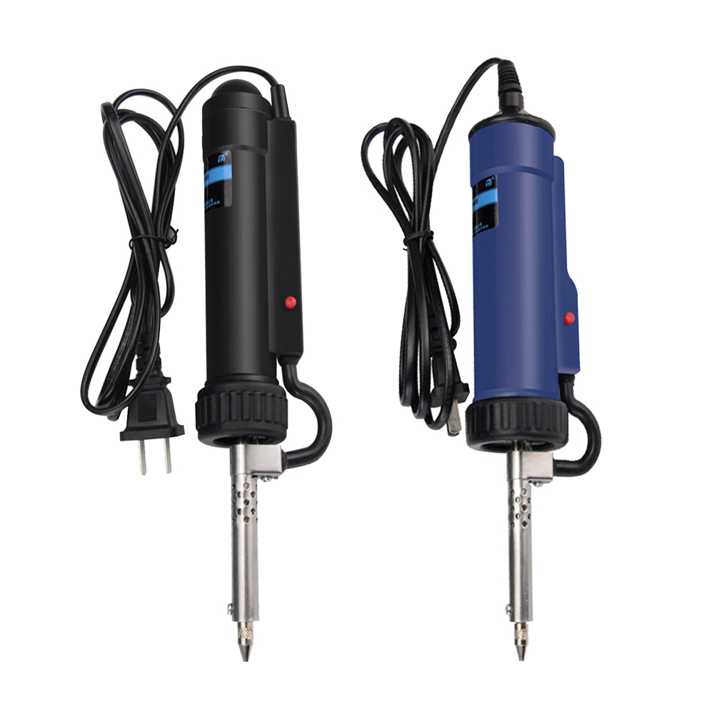 30W 220V Electric Tin Suction Device Portable Automatic Tin Electric Vacuum Solder Sucker Desoldering Pump Soldering Repair Tool