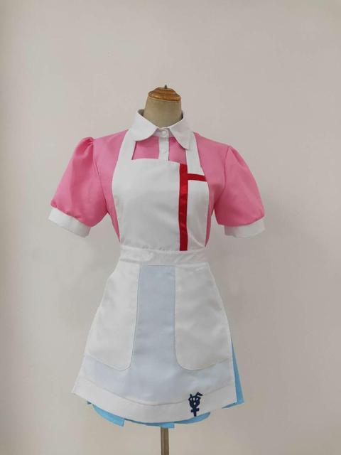 anime Dangan Ronpa 2 Mikan Tsumiki Danganronpa Dress Cosplay Costume