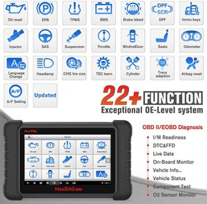 Image 2 - Aute OBD2 Scanner Car Diagnostic Auto Tool MaxiDAS DS808K Code Reader Better DS808 DS708 Functional Better than launch x431