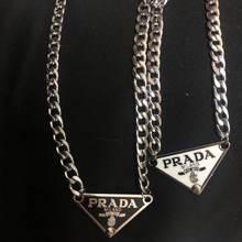 2021 Triangle collier hommes et tenue de femme chaînes