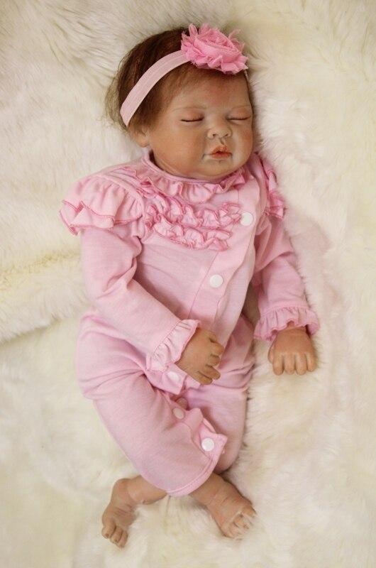 polegada boneca bebes reborn bonecas menina lifelike