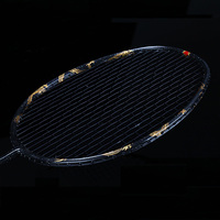 Ultralight 8U Dragon Phoenix Full Carbon Fiber Badminton Rackets With String Bags Professonal Rackets Padel For Adults Kids