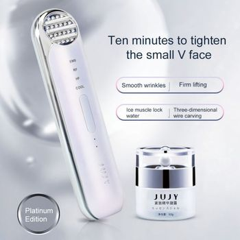 JUJY V-face Massager Face-lifting Instrument Face-lifting Artifact Lifting Firming Beauty Instrument 1