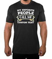 Men's Custom T shirt